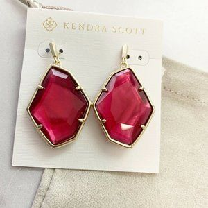 Kendra Scott Dunn Large Drop Earrings New!